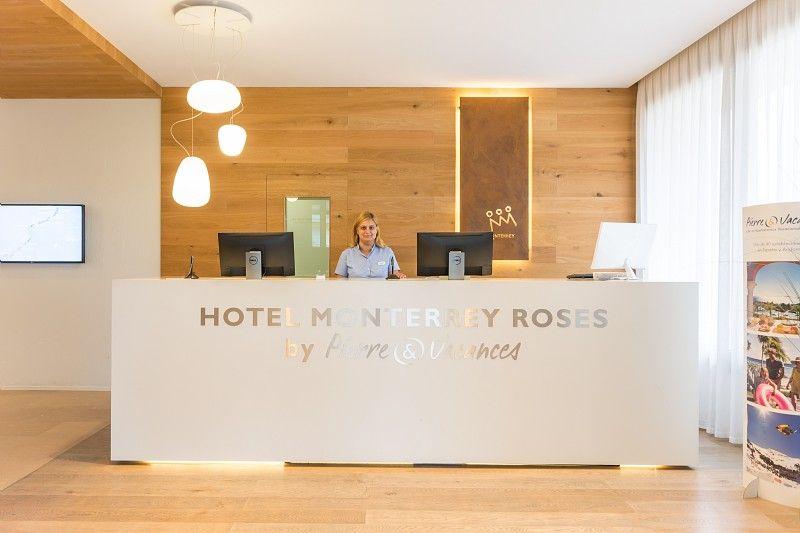 Recepción   Hotel Monterrey Roses   Roses - Gerona