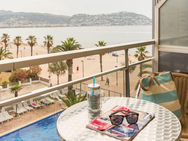 Vistas Balcón | Hotel Monterrey Roses | Roses - Gerona