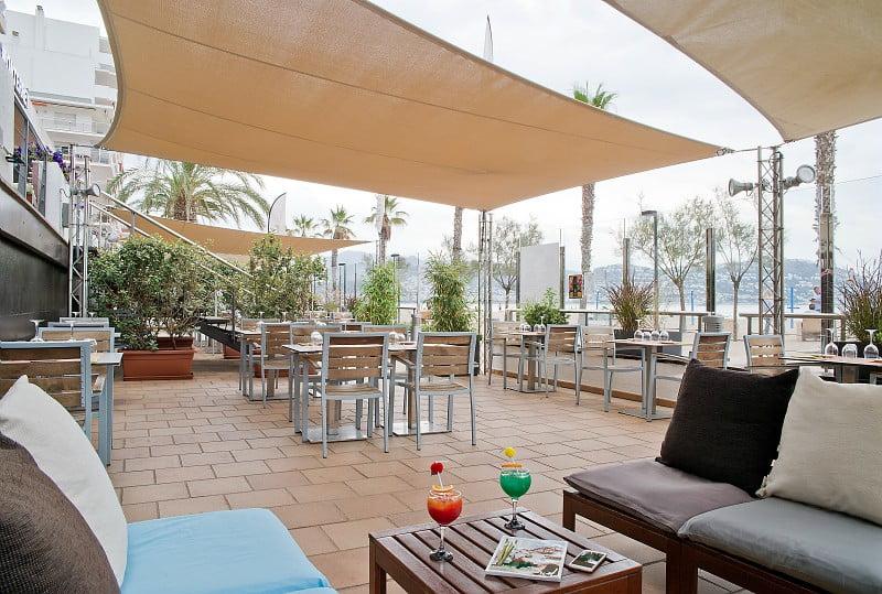 Restaurante Exterior | Hotel Monterrey Roses | Roses - Gerona